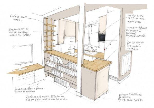Comment optimiser l 39 am nagement d 39 une petite cuisine for Amenagement petite cuisine
