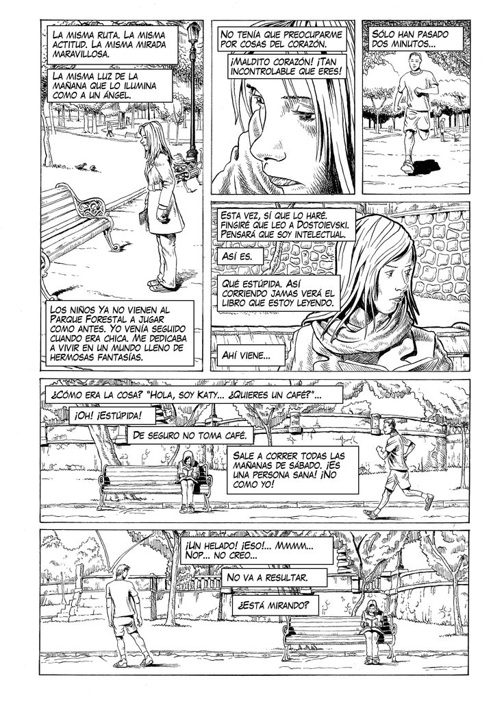 """Saturday Morning"" page / Página de ""Mañana de Sábado"". By Pato Berroeta."