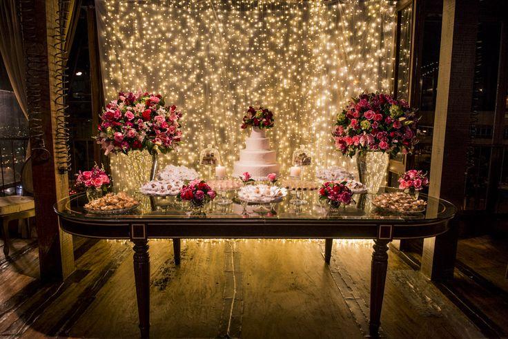 Casamento romântico de Izabella + Daniel
