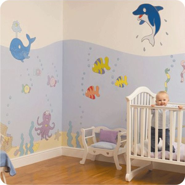 under the sea nursery Nursery Ideas Pinterest Design