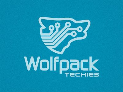 Wolfpack Techies - Design by Brian Rodenberg: Graphic Design, Idea, Web Design, Logo Inspiration, Logos Design, Logo Crush, Design Gallery, Design Fool, Logo Design Inspiration