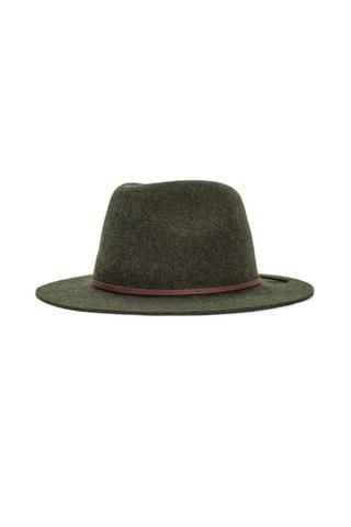 Brixton | Wesley Fedora in Heather Moss