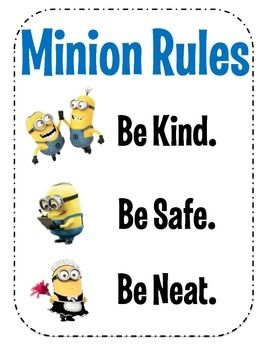 Be Kind! Be Safe! Be Neat! These have been my 3 classroom rules for the past 5 years.