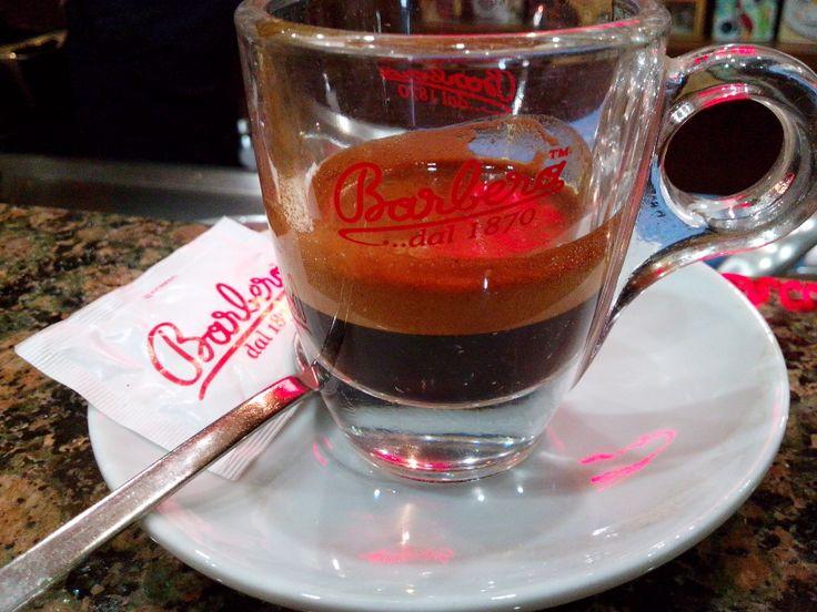 Mago blend in espresso glass cup