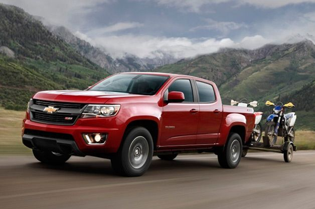The #Chevy #Colorado and #Canyon announce they will get up to 26 MPG on the highway! http://www.autoblog.com/2014/09/03/chevy-colorado-configurator-fuel-economy/
