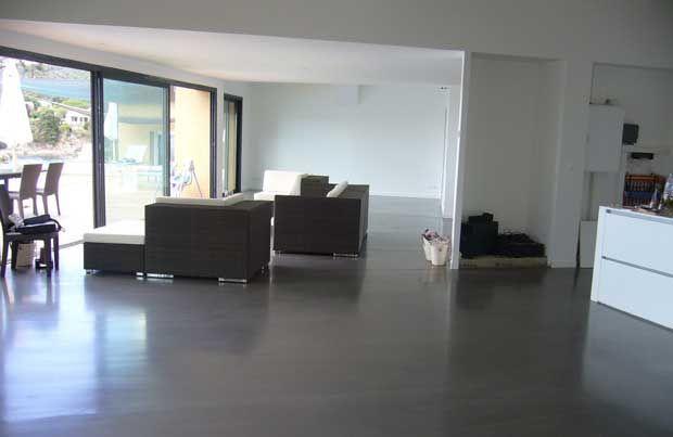 Beton cire betonlook Ons huisje interieur Pinterest