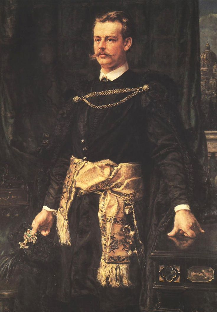 Portrait of Artur Potocki - Jan Matejko