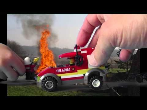 Lego Brandweer film - YouTube