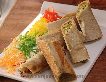 Leftover Roti Rice Rolls