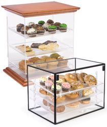 Acrylic Pastry & Bakery Display Cases