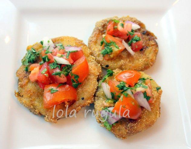 Fried Green Tomatoes Pinterest'te | Domatesler, Okra ve Peynir ...