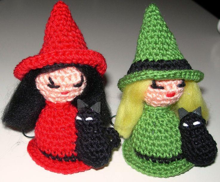 Tutorial Amigurumi Bruja Witch : Mas de 1000 imagenes sobre Amigurumis Coruna en Pinterest
