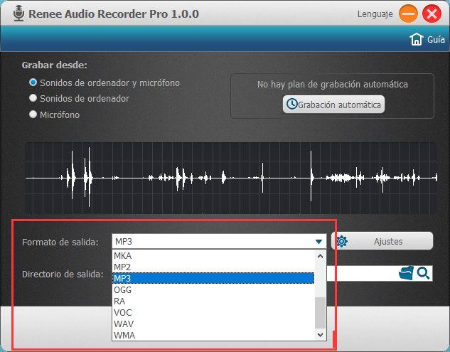 Puede hacer muchas cosas con un software de grabación como Renee Audio Recorder Pro, que es un programa idóneo para principiantes. Le permite grabar música gratis en su PC de manera fácil.  https://www.reneelab.es/como-grabar-musica-gratis-en-mi-pc.html