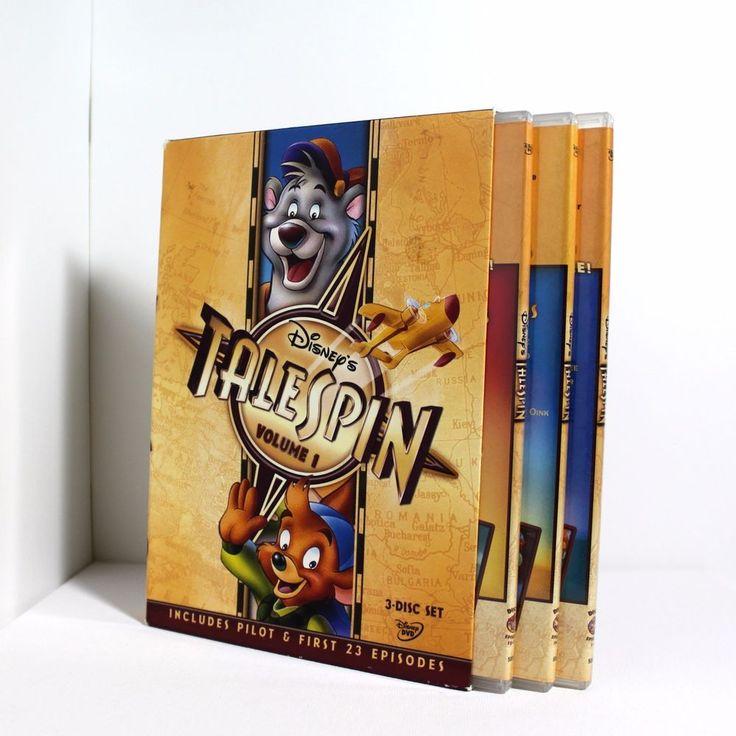 Disneys tailspin volume 1 3disc dvd set 2006 free sh