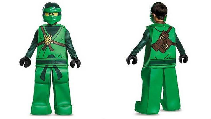 Disfraz LEGO Ninjago verde