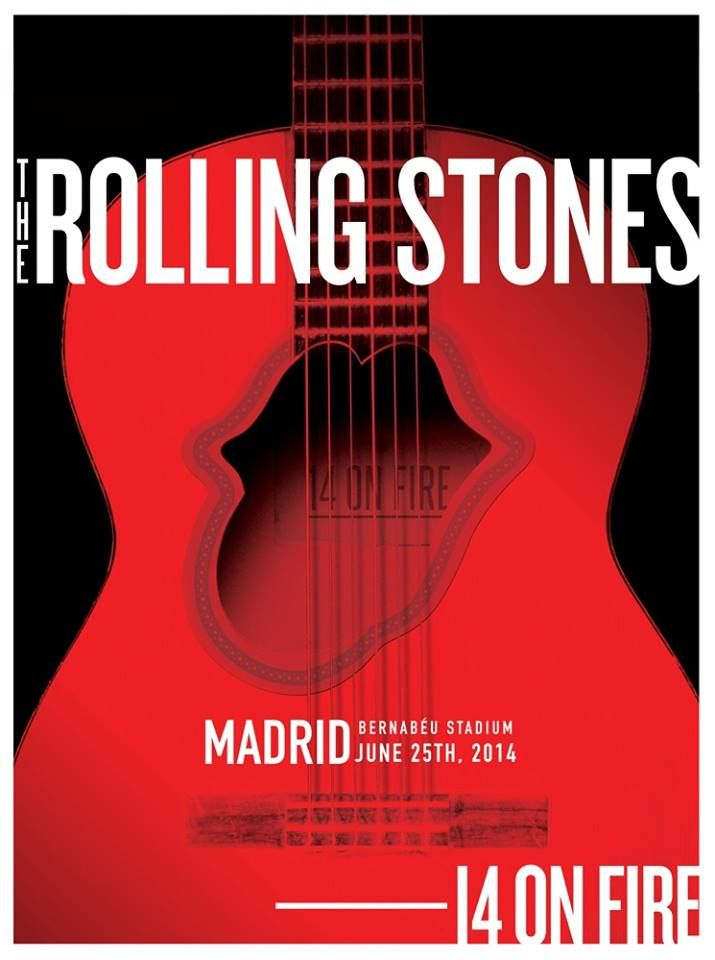 Tour Posters Europe 2014 14 On Fire Stones 14onfire
