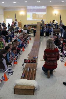 Example of GS Pinewood Derby rules & registration info