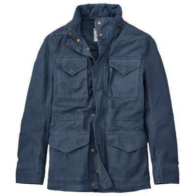 Timberland Men's Mt. Stickney M65 Jacket (Dark Sapphire)