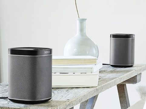 Sonos wireless speakers enable you to stream music from any source to any room in your house with no loss of audio quality. Browse the large range of top-quality speakers available from Sonos and find the assortment that's right for you.