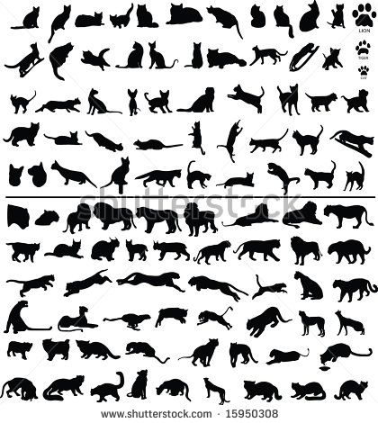 best 25 silhouette tattoos ideas on pinterest cat. Black Bedroom Furniture Sets. Home Design Ideas