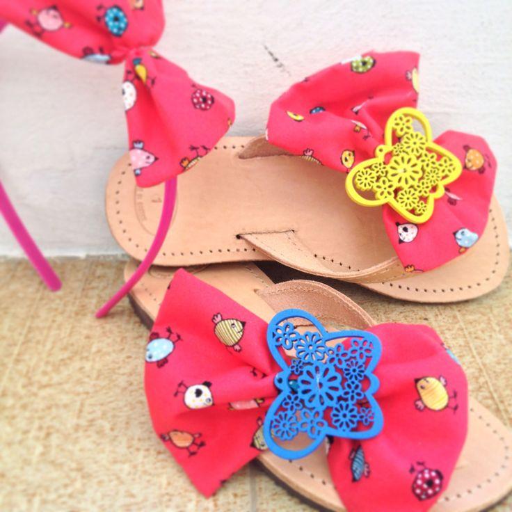 Handmade kids sandals