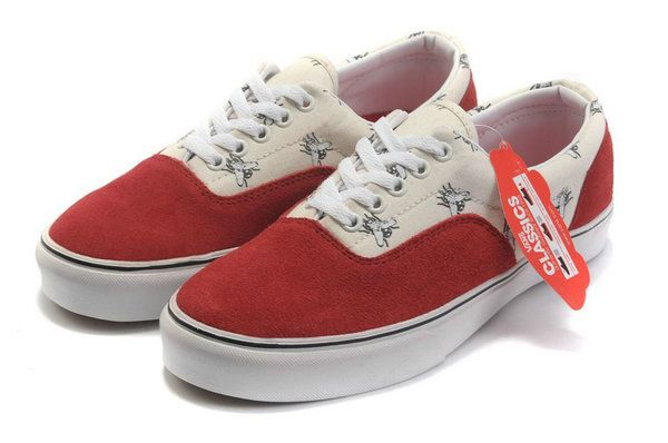 0eaa38a236 Fashionable Vans Era x Supreme Flies Pack White Red Suede Canvas Classic  Skate Shoes  322  -  39.99   Vans Shop