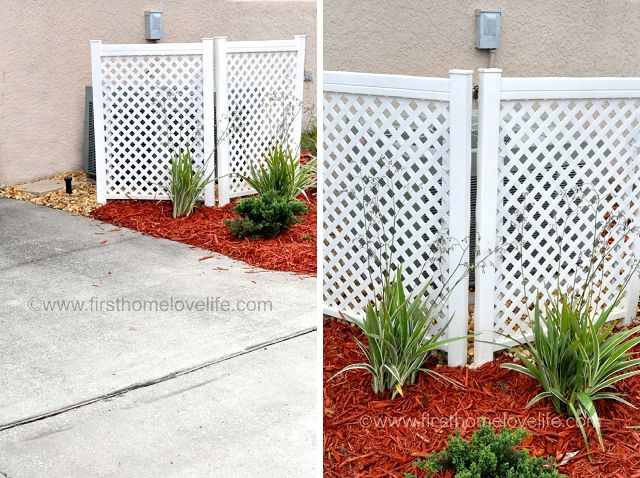 77 Best Lattice Images On Pinterest Backyard Privacy