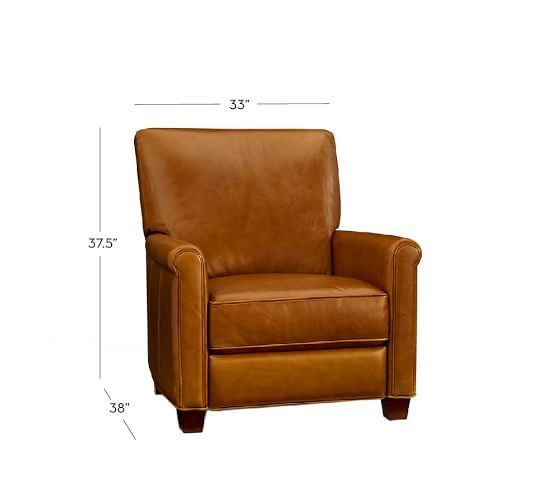 irving leather recliner 3