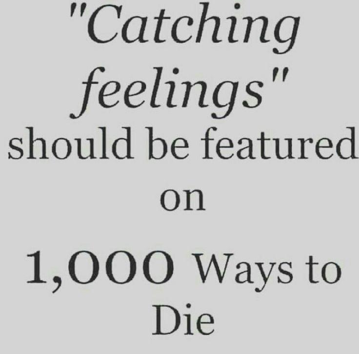 """Catching feelings"""