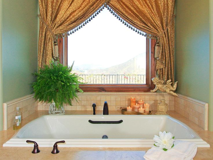 17 Best Ideas About Bathroom Window Curtains On Pinterest