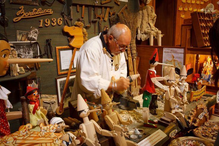 Pinocchio birth. Surprising place in Rome.