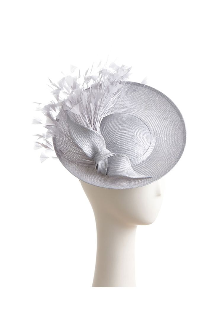 Juliette Small Saucer with Knot and Feathers - available at www.suzannah.com