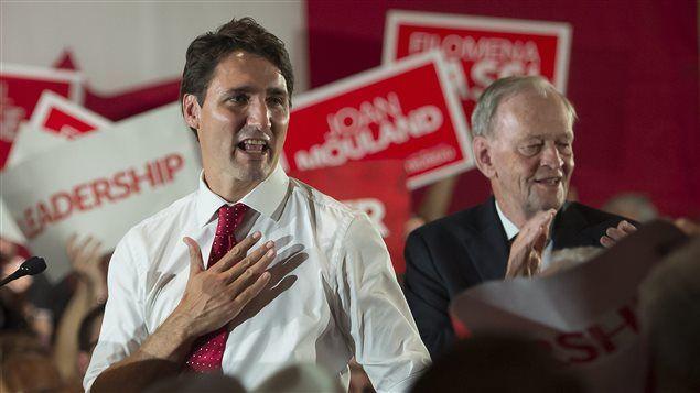 Jean Chr�tien commente la victoire de Justin Trudeau | Gravel le matin