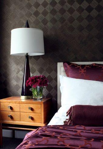 Kwiaty w sypialni, fot.: Sean Michael Design