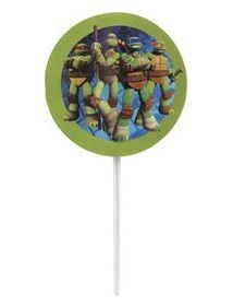 Teenage Mutant Ninja Turtles Cupcake Picks Set of 12 >>> Click on the image for additional details.