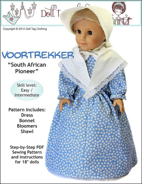 """Pattern Overview: The Voortrekkers (Afrikaans and Dutch for pioneers, literally """"fore-movers"""") were Afrikaner emigrants who left the original"""