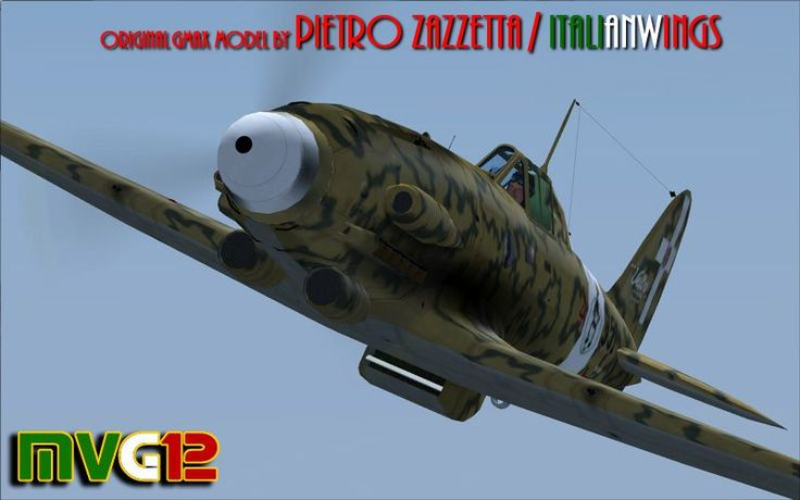 AerMacchi C. 205 Veltro (Greyhound) for FSX