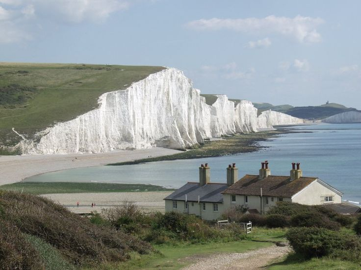 Seven Sisters Cliff, East Sussex, England