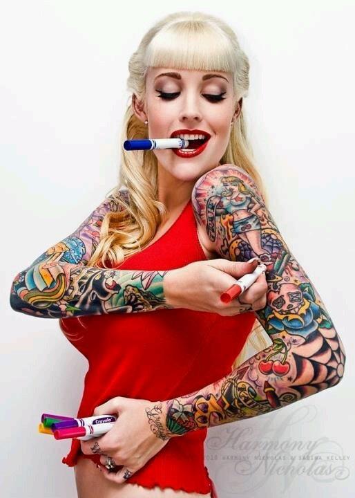 #rockabilly #pinup #tattoo