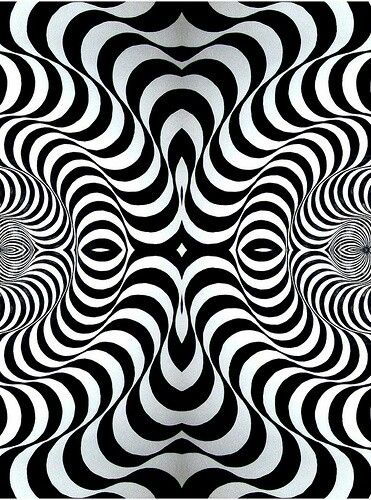 Op art: This was art that involved optical illusions and was completely new to the world but captivating and intriguing!