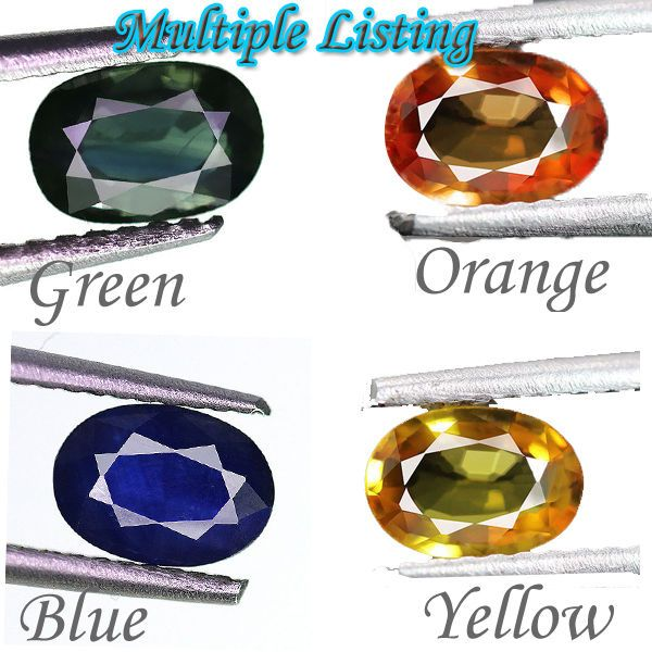 1pc Natural Multicolor Sapphire Gems Wholesale Best Price Rare Collection Ceylon #Vyominijewels