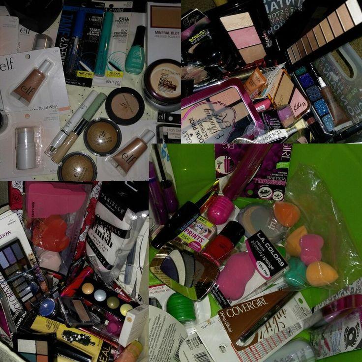 210x Wholesale Makeup Revlon Almay FOCALLURE L'oreal Beauty Sponges Brushes Bags #LorealMaybellineRimmelElf