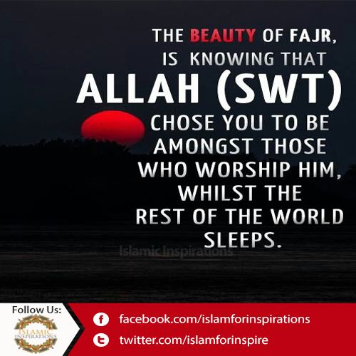 May Allah (SWT) Choos us to be there.  ||►Like ||►Share ||►Comment ||►Promote ||►Spread  #IslamicQuotes #Islamic #Fajar #Prayer