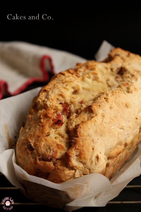 """Cakes Lab Test&Taste: Il """"pain maison""""alla birra di Thierry con cipolle e bacon"""