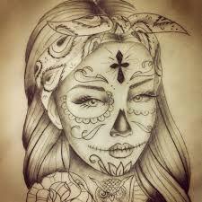 Bildergebnis für catrina skull tattoo