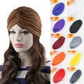 Fashion Unisex Stijl Stretchable Tulband Hat Hair Head Wrap Cap Headwrap