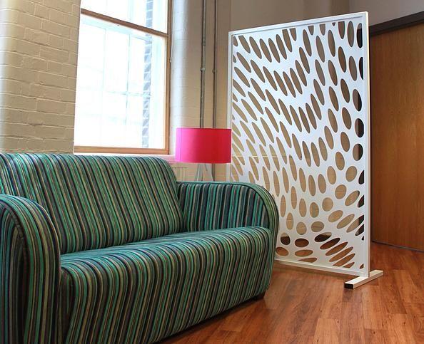 Laser Cut Walls Office : Laser cut room divider office screen partition deco