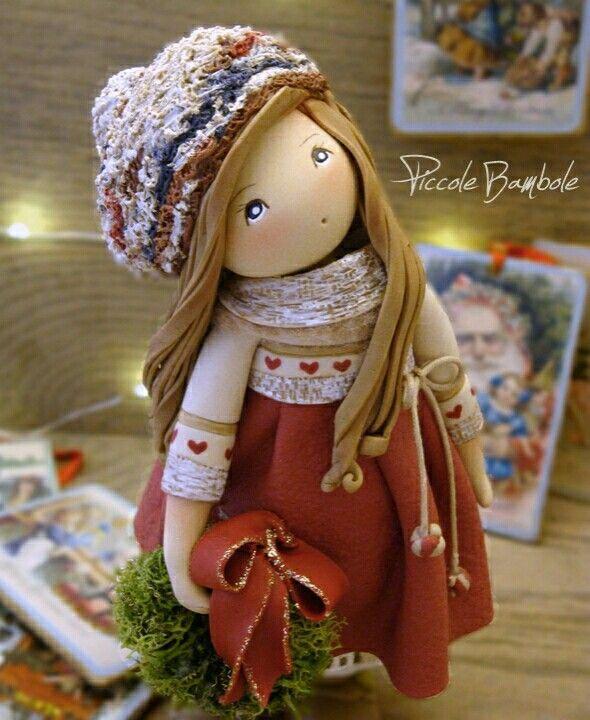 PiccoleBambole :Marry Christmas-Natale - Porcellana fredda