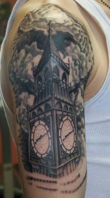 Big Ben | Tattoos | Lark tattoo, Tattoos, Believe tattoos