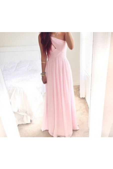 Pink Bridesmaid Dress